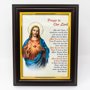 Prayer to Our Lord Picture.