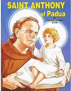 St Anthony of Padua Children's Book.