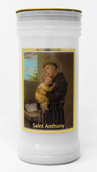 Pillar Candle - Saint Anthony.