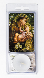 Saint Anthony of Padua Votive Candle.