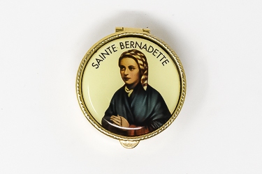 Saint Bernadette Pill Box.