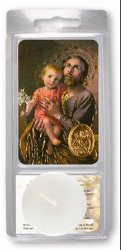 Saint Joseph Votive Candle.
