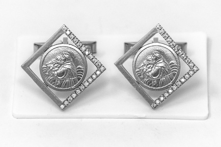 St Anthony Cuff Link's.