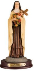 St Therese Statue.