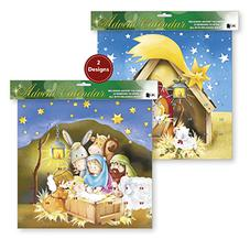 Christmas Nativity Advent Calendar.