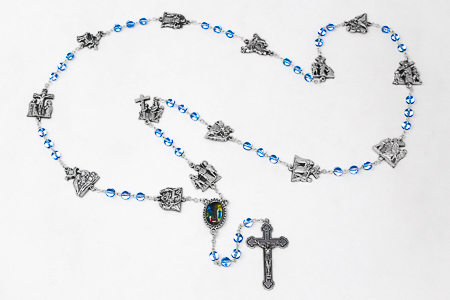 Stations of the Cross Rosary Beads.