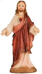 Sacred Heart of Jesus Statue.