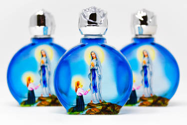 Holy Water Bottles.