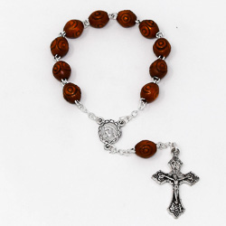 Wooden Handheld Rosary.